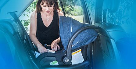 提籃式汽車安全座椅